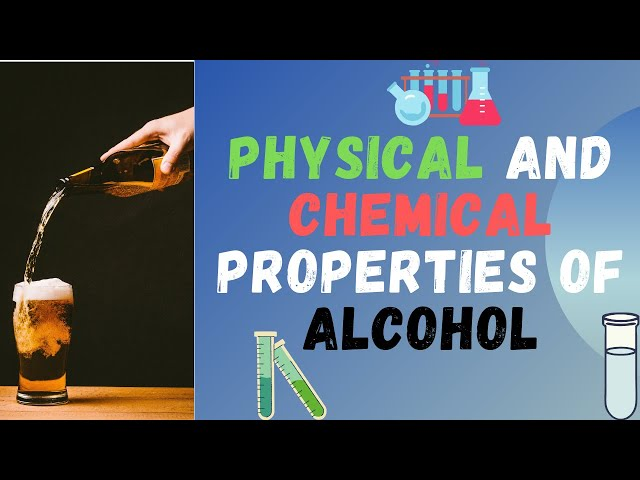 Physical and Chemical Properties of Alcohol | Part 1 | Class 12 | JEE | NEET | PACE SERIES