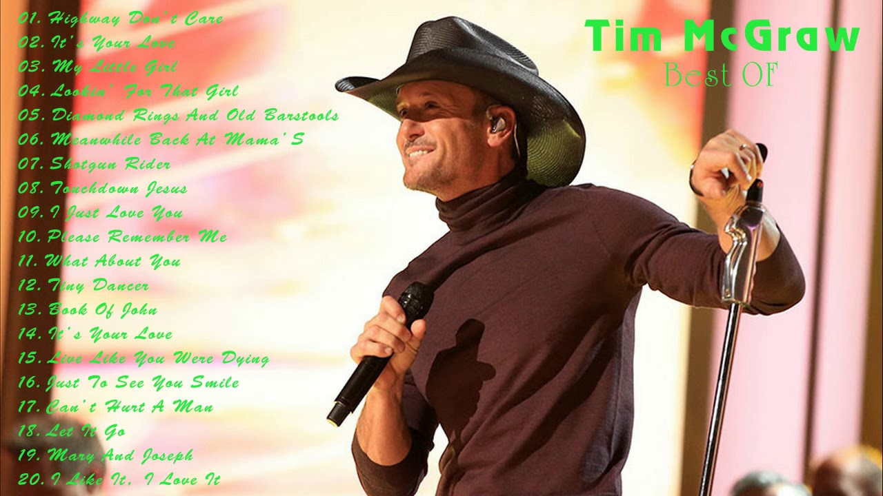 Tim mcgraw greatest hits youtube