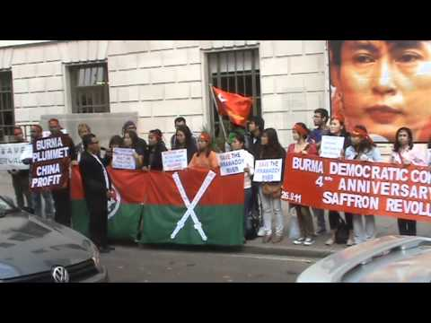 Burma Democratic Concern (BDCs) Demand China to Stop Building Irrawaddy Dams from YouTube · Duration:  6 minutes 18 seconds
