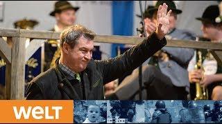 WAHLKAMPFABSCHLUSS: In Bayern entscheidet nun der Wähler