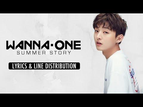 Wanna One (워너원) - Summer Story (여름 이야기 - Immortal Song) [Line Distribution & Lyrics (Han/Rom/Eng)]