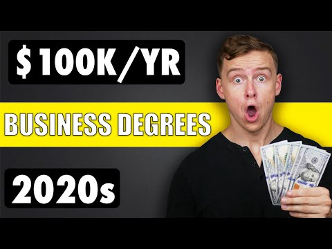 Top 10 Business Degrees (Best Business Majors)