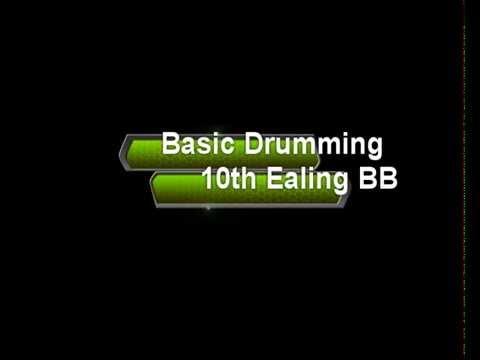 Basic Drumming Lesson (10th Ealing Boys' Brigade)