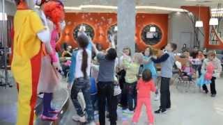 Детский праздник в ТРЦ