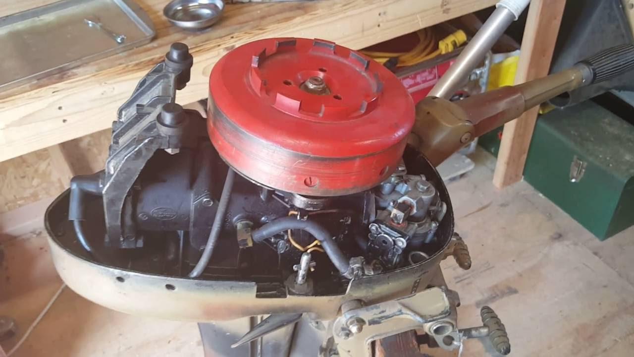 1968 Mercury 3 9hp Vintage Outboard Carburetor And Fuel Pump Rebuild Youtube