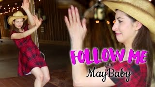 maybaby s line dancing lesson follow me ep 8