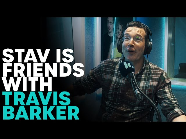 Stav Is Friends With Travis Barker | B105