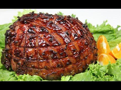 Jamaican Christmas Food.Sorrel Glazed Ham Christmas Special 5 Caribbeanpot Com