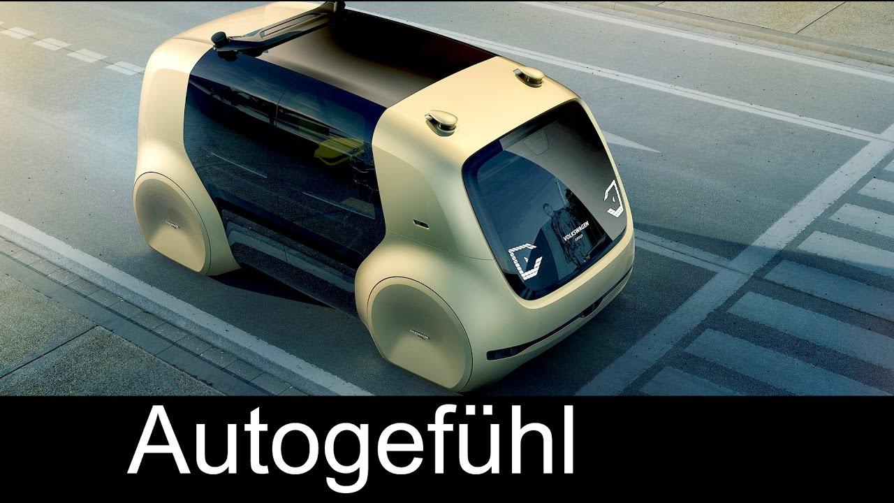 VW Sedric Self-Driving-Car electric autonomous vehicle Concept