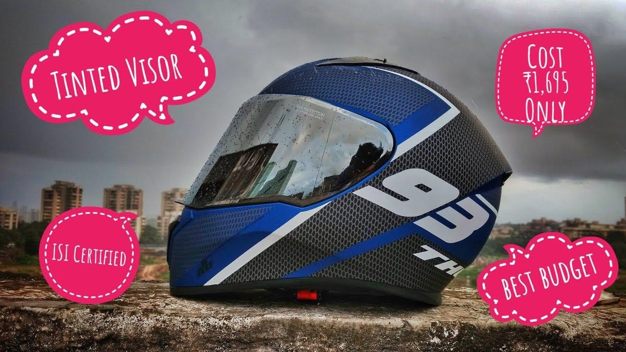 Studds Shifter Helmet Review Youtube: Sahi Khel Gaye!!! Studds Thunder Review