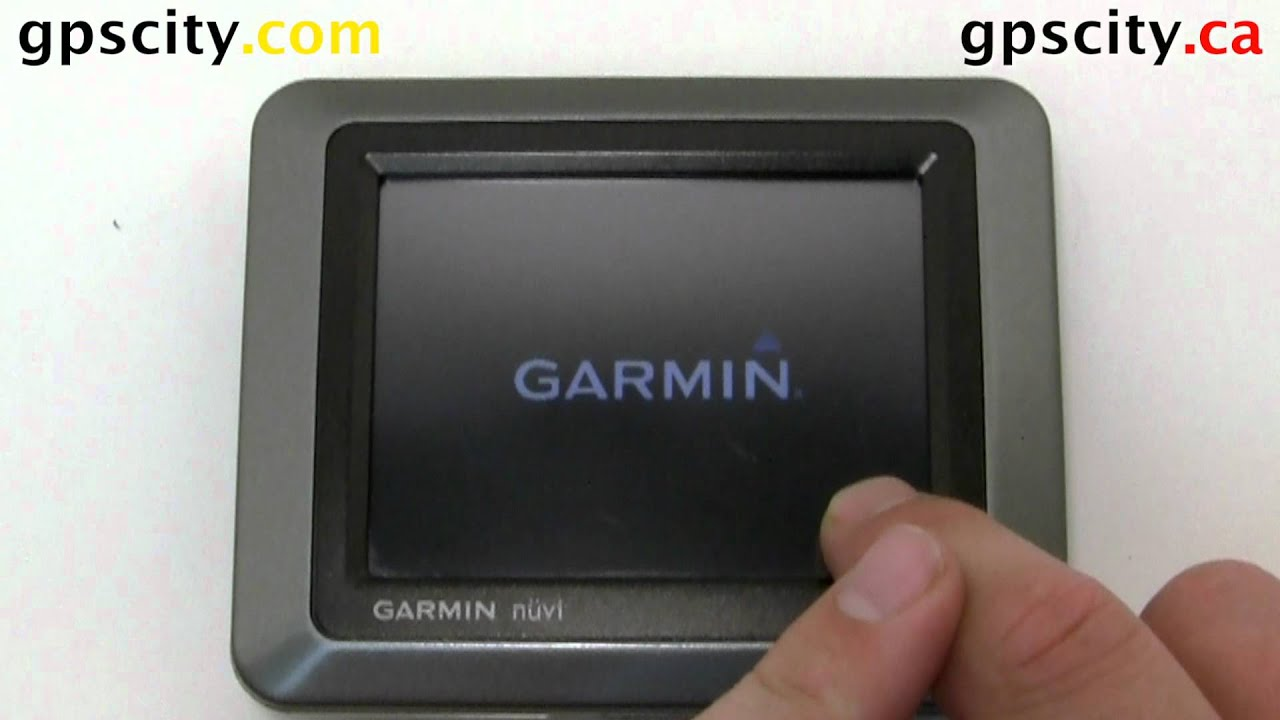 How to Reset the Garmin nuvi 550 with GPS City