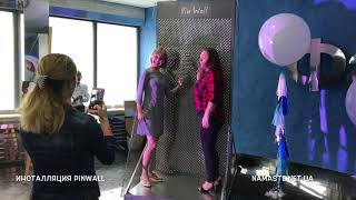 Wow-Art инсталляция PinWall в День Фармацевта на заводе Фармак
