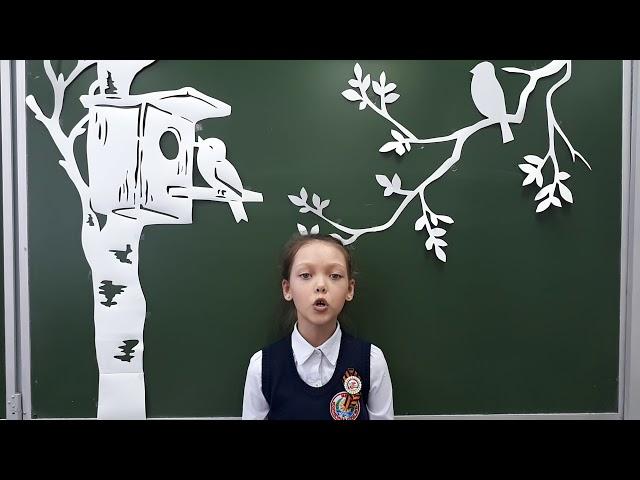 Изображение предпросмотра прочтения – КристинаВасильева читает произведение «Весна (Зима не даром злится…)» Ф.И.Тютчева