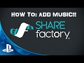 HOW TO IMPORT MUSIC TO SHARE FACTORY FROM USB!!!
