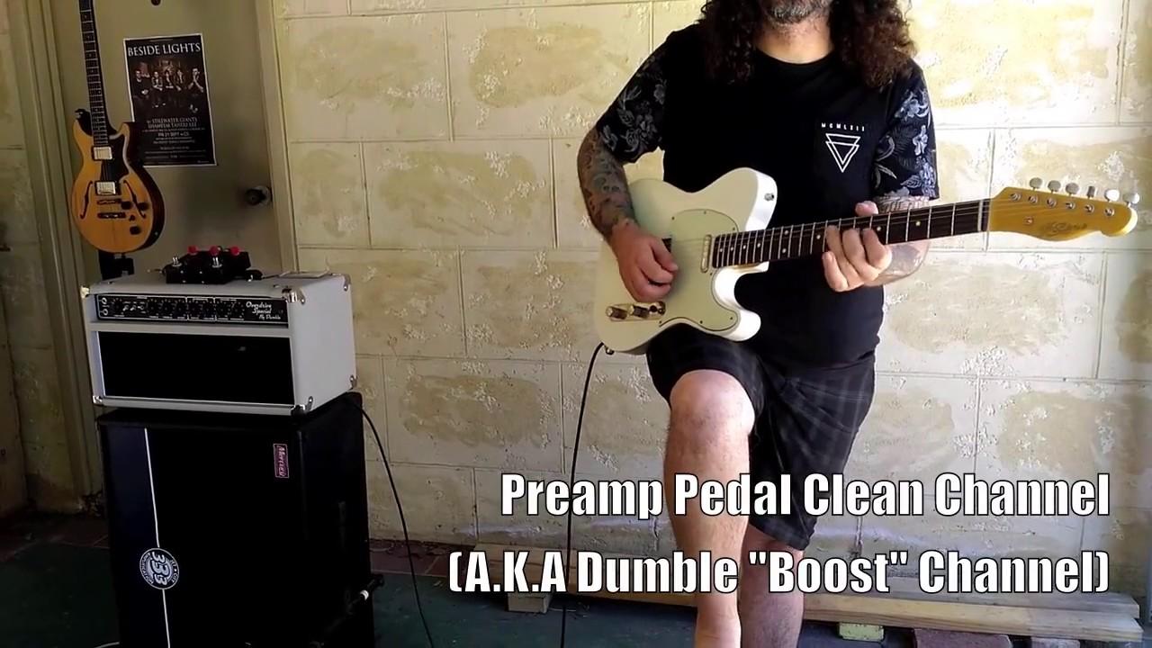 Dumble tube pedal tone test