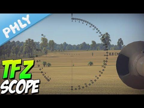 REALISTIC & ROTATABLE Gun Sights | Zeiss Optic (War Thunder Tanks Gameplay)