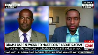 CNN OutFront: Obama uses N-word to make point about racism