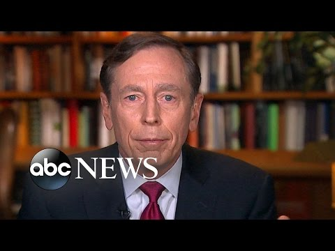 Gen. David Petraeus on if He Voted for Trump: 'I Don't Vote'