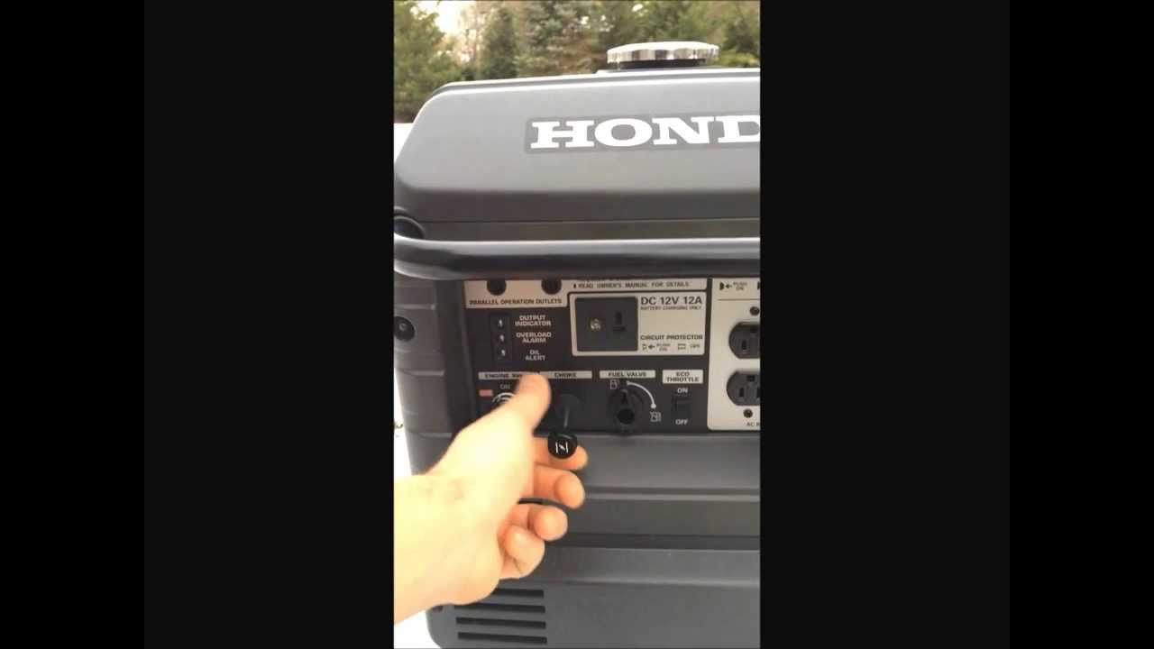 Great Honda EU 3000is As An Emergency Whole House Generator