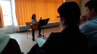 Audition école de musique de Bercher