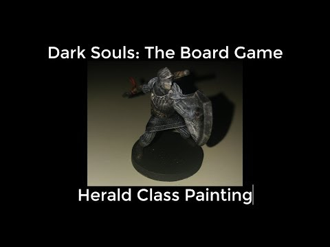 Dark Souls The Board Game: Herald Class Painting