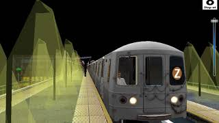 Download OpenBVE HD: Chasing NYC Subway R179 Z Skip-Stop Express