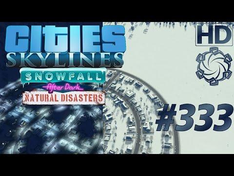 "Cities: Skylines Snowfall Let's Play #333 ""Verkehrsreset"" german deutsch HD PC"