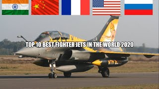 Top 10 Fighter Aircraft in the World (2020) | Best Fighter Jets in the World today