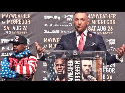 Floyd Mayweather vs Conor McGregor PRESS CONFERENCE | Los Angeles