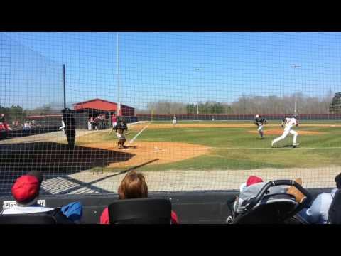 Dawson Pitching Jackson County High 2 Inning