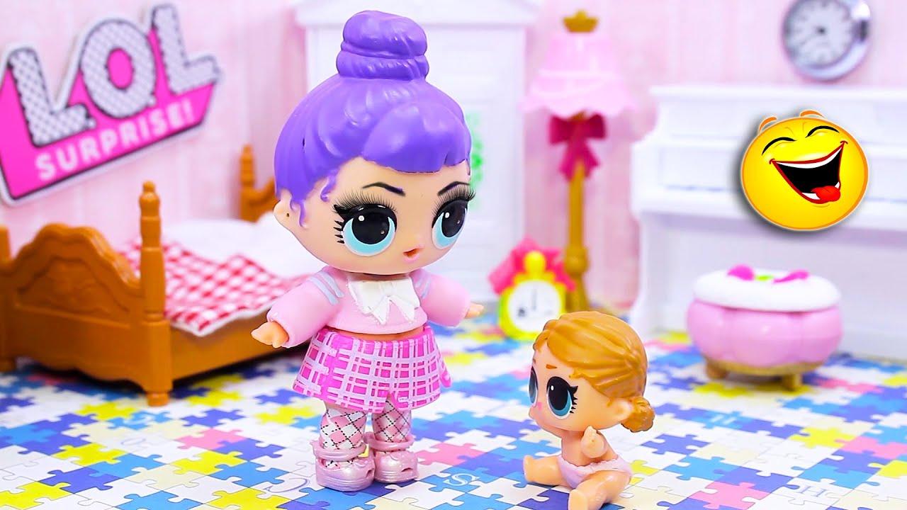Смешные куклы лол сюрприз