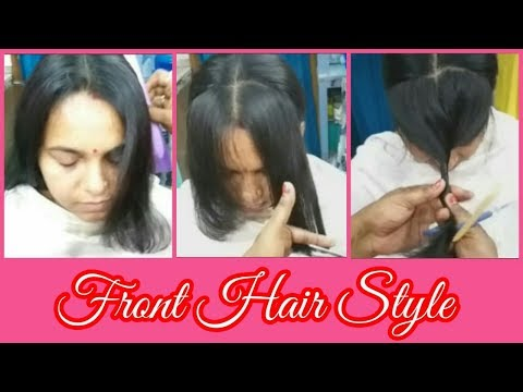 How to cut Front Layered Fringe Perfectly.| Layered Hair | Layered Hairstyle