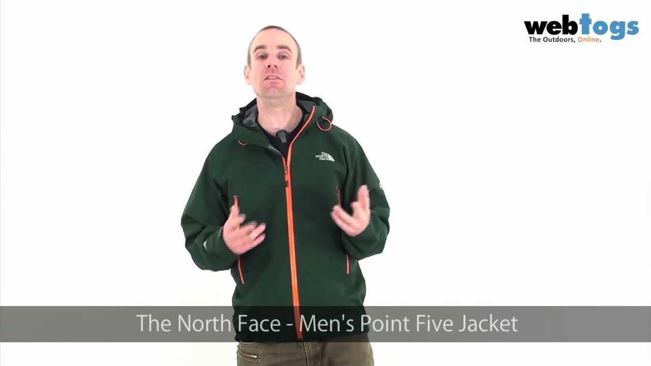 bbbfd58147 The North Face Men's Point Five Jacket - Mountaineering Goretex Pro Shell  Jacket. - YouTube