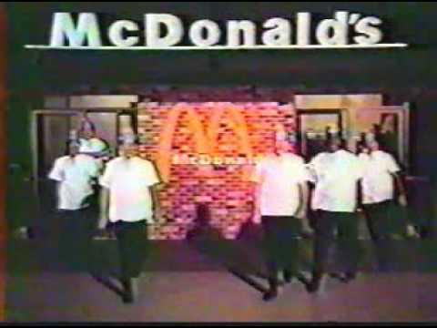 McDonalds Television Ad  c. 1970's