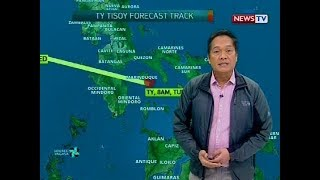 BT: Weather update as of 12:30 p.m. (December 3, 2019)