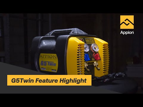 G5Twin Refrigerant Recovery Machine Feature Highlight