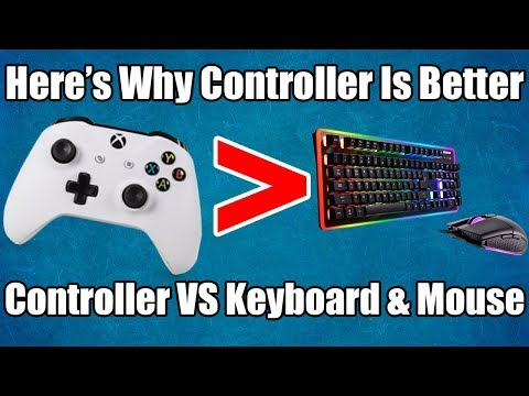Why Controller Is Better Than Keyboard And Mouse!   Controller VS Keyboard and Mouse!