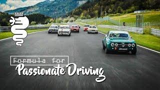Formula for Passionate Driving - Alfa Romeo GTA M Formula GT ENG/GER/NL/SP SUBS