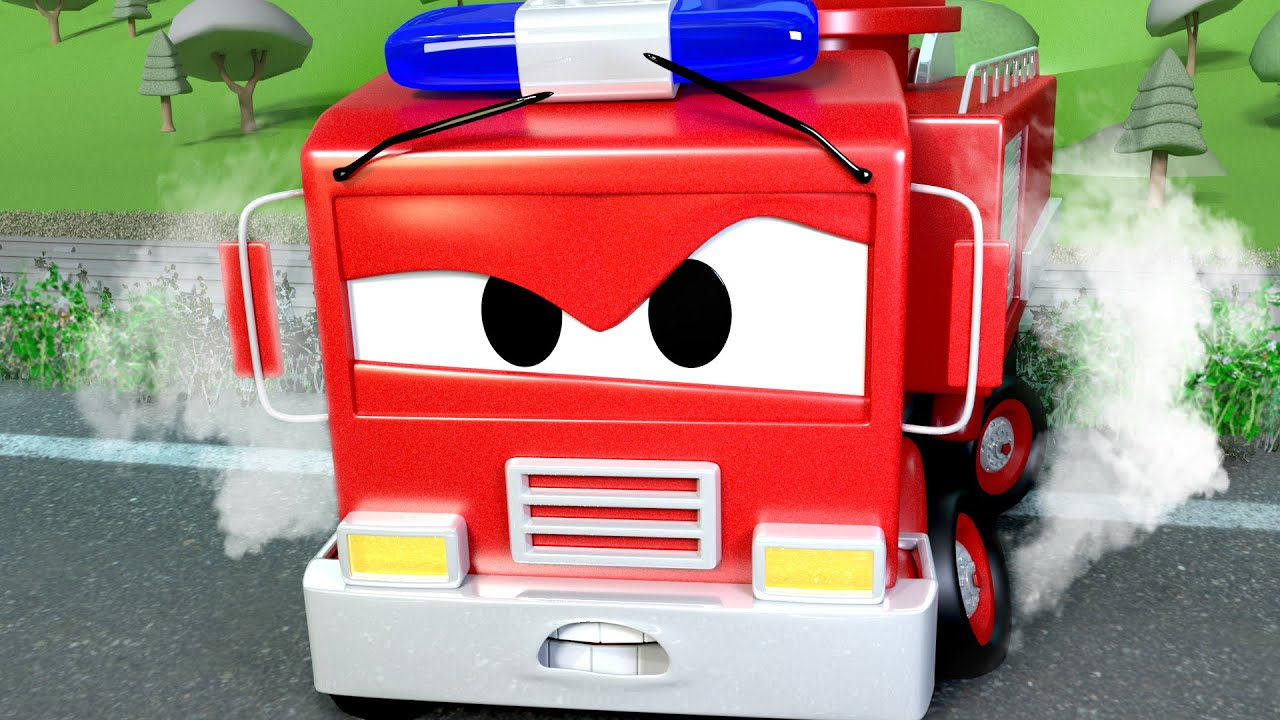 Авто Патруль - Опасная железная дорога - Автомобильный Город  ???? ???? детский мультфильм