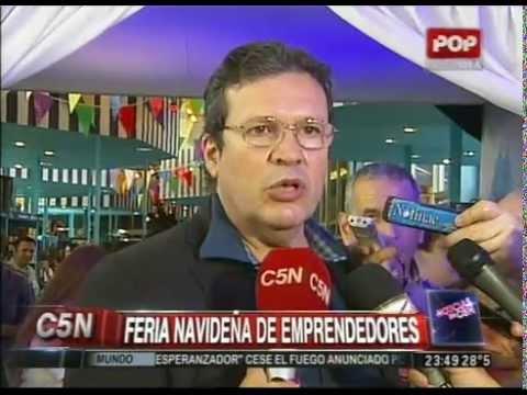 C5N - SOCIEDAD: FERIA NAVIDEÑA DE EMPRENDEDORES NACIONALES