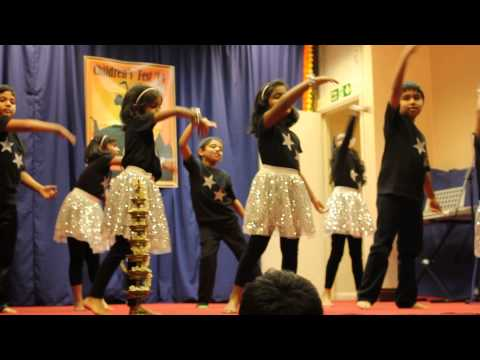Yeh Tara Woh Tara - ( Swades ) - Hindu Society Children's Festival 2014 - Sutton, London