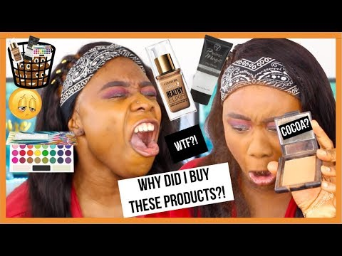 FULL FACE OF MAKEUP I'M THROWING OUT ... Yikes!!! | MsTopacJay