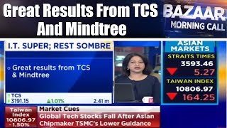 Great Results From TCS And Mindtree | Bazaar Morning Call | 20th Apr | CNBC TV18