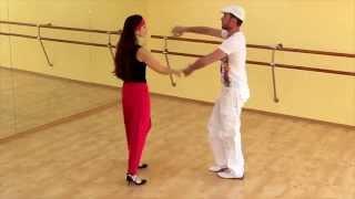 Сальса видео - Урок сальса №2 (Шаг