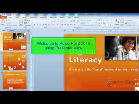PowerPoint 2010 Presenter View