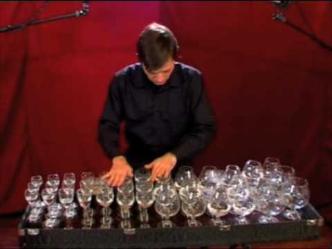 Glass harp-Toccata and fugue in D minor-Bach-BWV 565
