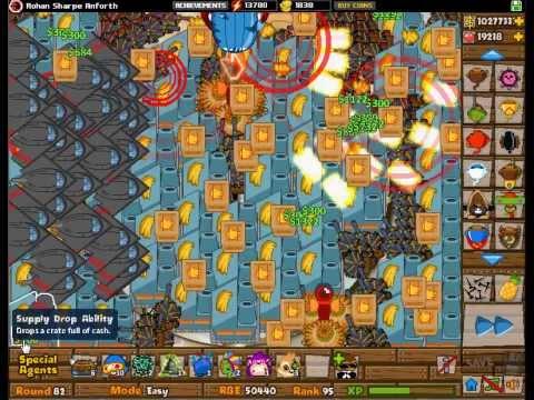 BTD5 - Super SUPPLY DROP Storm!  + Surviving ZOMG