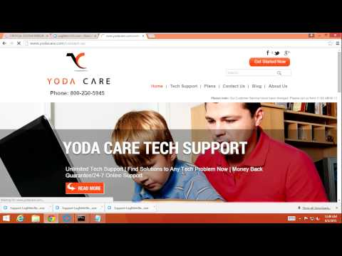 Fake Tech Support Scam Call 8/2/2015 Scammer gets mad and boot into safe mode