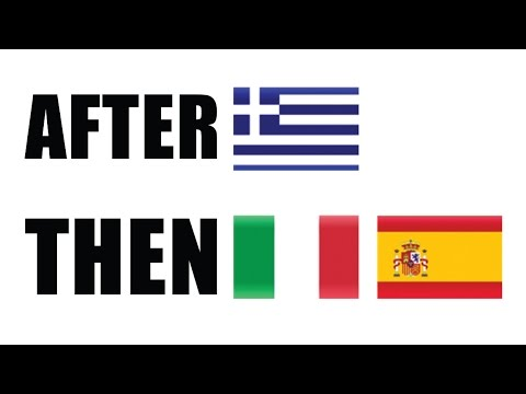 EU Crisis as Greece Chaos Reveals Financial Disaster in Italy and Spain!