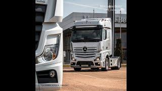 Фото ГудТракс ремонт грузовиков и не только, презентация новой модели Мерседес Бенц Актрос